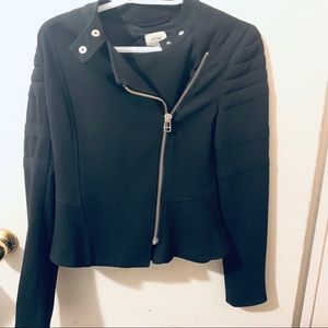 Wilfred Black Light weight moto jacket